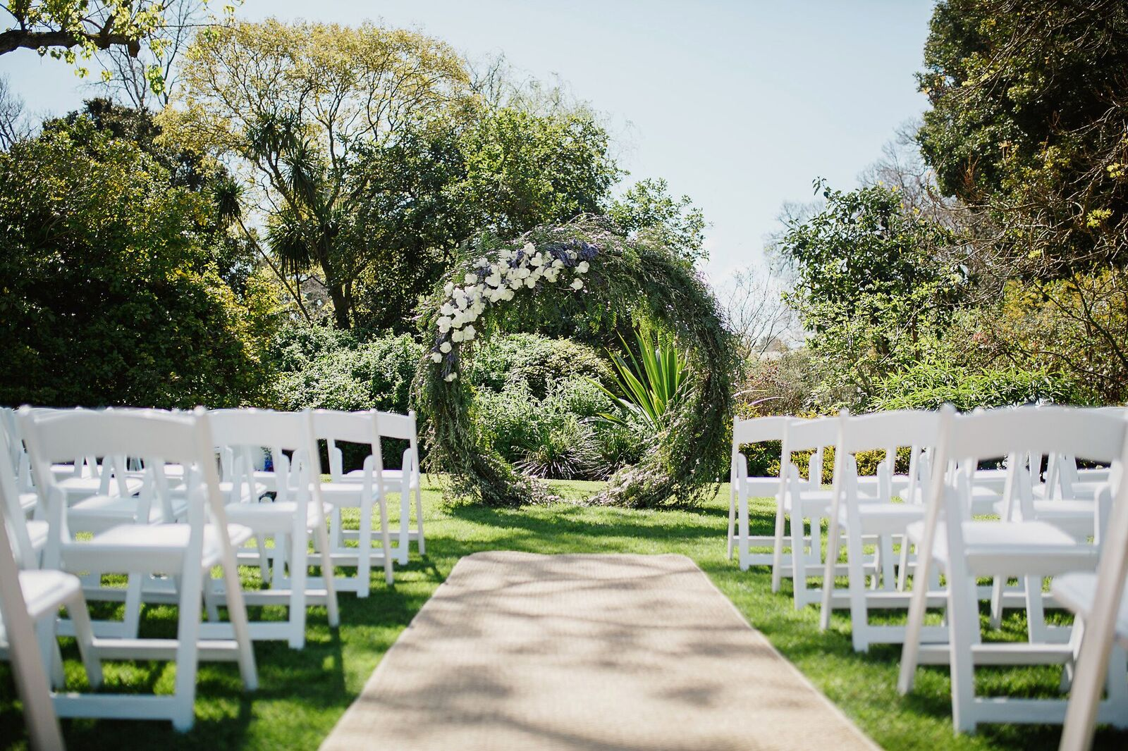 Outdoor Wedding Venue Photo Gallery: Botanical Gardens Wedding Venues In Melbourne, Victoria